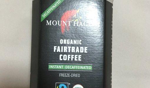 iHerb(アイハーブ)の Mount Hagenのフェアトレードコーヒーがおすすめ